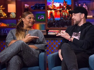 Watch What Happens: Live - 14x08 Queen Latifah & Jason Sudeikis Screenshot