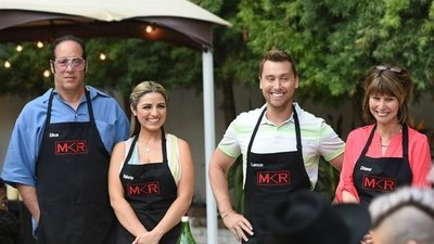 My Kitchen Rules (US) - 01x05 Dice vs. Lance Bass at Kelly Osbourne's