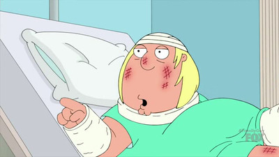 Family Guy - 15x16 Saturated Fat Guy