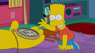 The Simpsons - 28x18 A Father's Watch