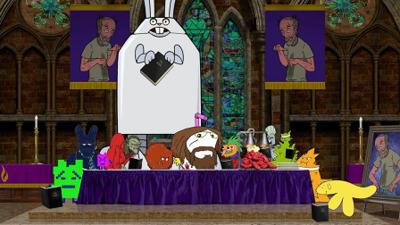 Aqua Teen Hunger Force Forever - 01x09 The Greatest Story Ever Told Screenshot