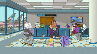 BoJack Horseman - 04x12 What Time Is It Right Now Screenshot