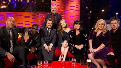 The Graham Norton Show (UK) - 22x10 Jessica Chastain, Dawn French, Rebel Wilson & Dwayne Johnson