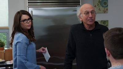 Curb Your Enthusiasm - 09x08 Never Wait for Seconds! Screenshot