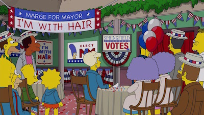 The Simpsons - 29x06 The Old Blue Mayor She Ain't What She Used To Be