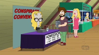American Dad! - 15x02 Paranoid Frandroid