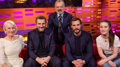 The Graham Norton Show (UK) - 22x16 Liam Neeson, Jamie Dornan, Maroon 5 Screenshot