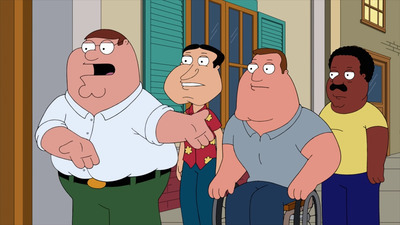Family Guy - 16x15 The Woof of Wall Street