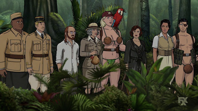 Archer - 09x08 Danger Island - A Discovery