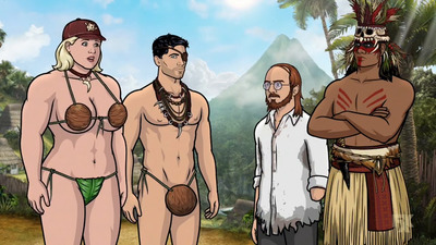 Archer - 09x07 Danger Island - Comparative Wickedness of Civilized and Unenlightened Peoples Screenshot