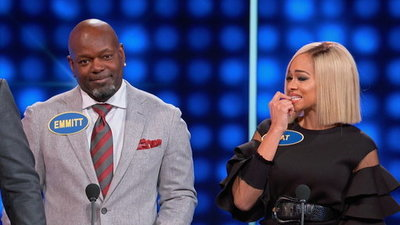 Celebrity Family Feud (2015) 4x08 Emmitt Smith Vs Todd