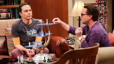 The Big Bang Theory - 12x07 The Grant Allocation Derivation