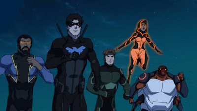 Young Justice - 03x08 Triptych