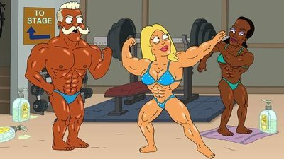 American Dad! - 15x14 One-Woman Swole