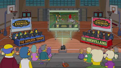 The Simpsons - 30x17 E My Sports