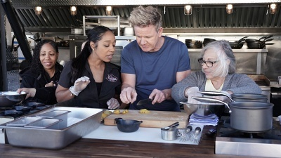 Gordon Ramsay's 24 Hours To Hell & Back - 02x10 M'Dears Bakery & Bistro Screenshot
