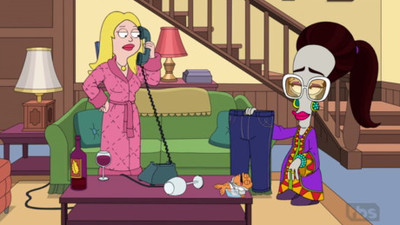 American Dad! - 16x11 I Am The Jeans: The Gina Lavetti Story  Screenshot