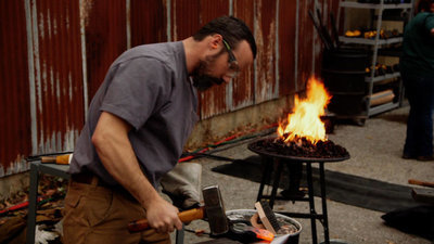Forged in Fire - 06x21 Astronaut Knife Screenshot