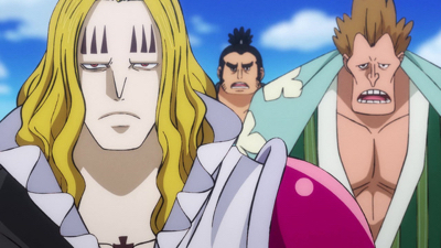 One Piece  - 21x07 Headliner! The Magician Basil Hawkins Enters The Scene!