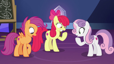My Little Pony: Friendship is Magic - 09x22 Growing Up is Hard to Do