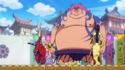 One Piece  - 21x13 Luffy Rages! Rescue Otama From Danger!