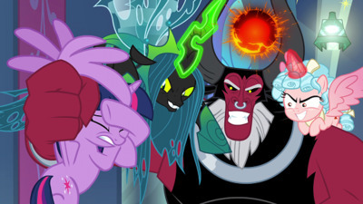 My Little Pony: Friendship is Magic - 09x24 The Ending of The End - Part 1