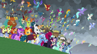 My Little Pony: Friendship is Magic - 09x25 The Ending of The End - Part 2