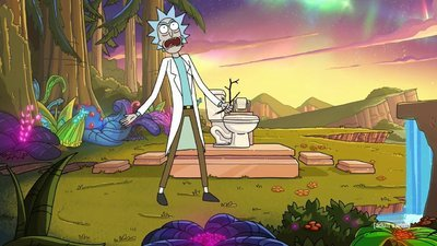 Rick and Morty - 04x02 The Old Man and The Seat