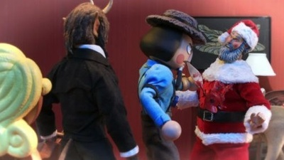 Robot Chicken - 10x11 Robot Chicken's Santa's Dead (Spoiler Alert) Holiday Murder Thing
