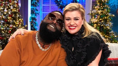 The Kelly Clarkson Show - 01x70 Annie Potts & Rick Ross