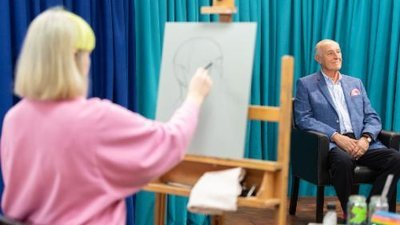 Portrait Artist of the Year (UK) - 06x03 Len Goodman, Tinie Tempah & Harriet Walter