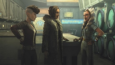 Star Wars: The Clone Wars - 07x05 Gone With a Trace