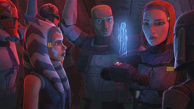 Star Wars: The Clone Wars - 07x09 Old Friends Not Forgotten
