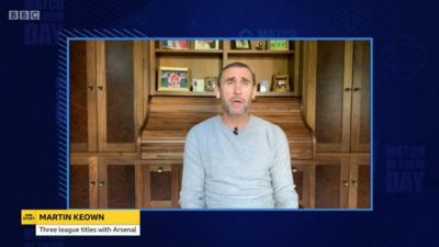 Match of The Day (UK) -  Match of Their Day - Martin Keown