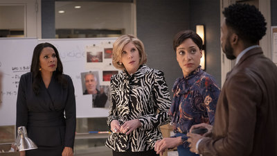 The Good Fight - 04x07 The Gang Discovers Who Killed Jeffrey Epstein Screenshot