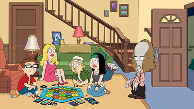American Dad! - 17x12 Game Night