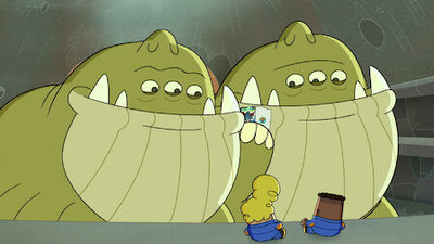 The Epic Tales of Captain Underpants in Space - 01x06 Captain Underpants and The Aggravated Assault of The Alien Armada Screenshot