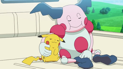 Pokémon - 23x30 The Reluctant Pikachu and The Exasperated Mr. Mime
