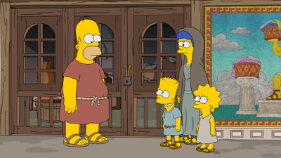 The Simpsons - 32x03 Now Museum, Now You Don't