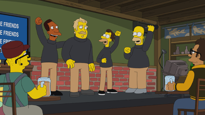 The Simpsons - 32x01 Undercover Burns