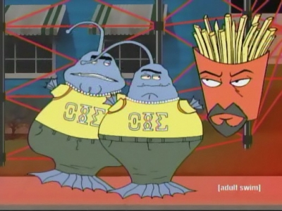 Aqua Teen Hunger Force Frat Aliens TV Episode 2003