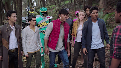 Power Rangers - 27x15 Grid Connection