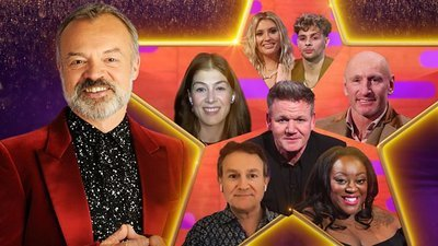 The Graham Norton Show (UK) - 28x19 Rosamund Pike, Gordon Ramsay, Gareth Thomas