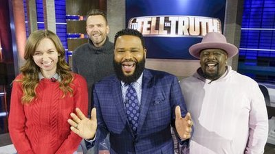 To Tell the Truth - 06x06 Cedric the Entertainer, Joel McHale and Lauren Lapkus Screenshot