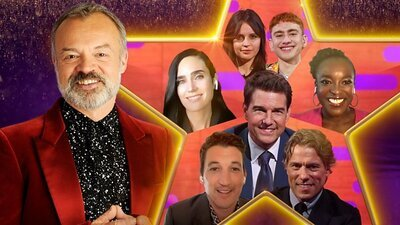 The Graham Norton Show (UK) - 28x25 Tom Cruise, Jennifer Connelly, Miles Teller, Felicity Jones, Wunmi Mosaku, John Bishop