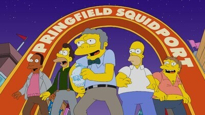 The Simpsons - 32x22 The Last Barfighter Screenshot