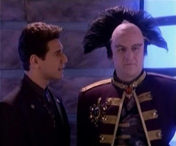 Babylon 5 1x14 signs and portents sharetv for Sign and portents