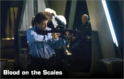 Battlestar Galactica (2003) - 04x14 Blood on the Scales (Part 2)