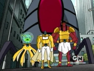 Ben 10 - 02x06 The Galactic Enforcers