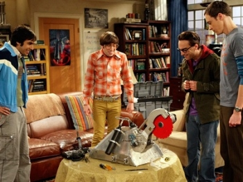 The Big Bang Theory - 02x12 The Killer Robot Instability